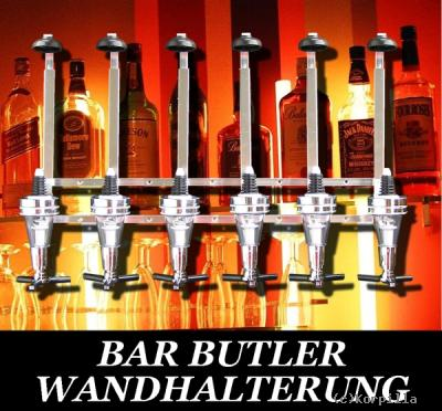 barbutler 6 flaschenhalter portionierer wand bar butler bar shop. Black Bedroom Furniture Sets. Home Design Ideas