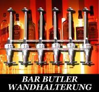 BARBUTLER 6 Flaschenhalter Portionierer Wand BAR BUTLER