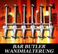 BARBUTLER 6 Flaschenhalter Portionierer Wand BAR BUTLER